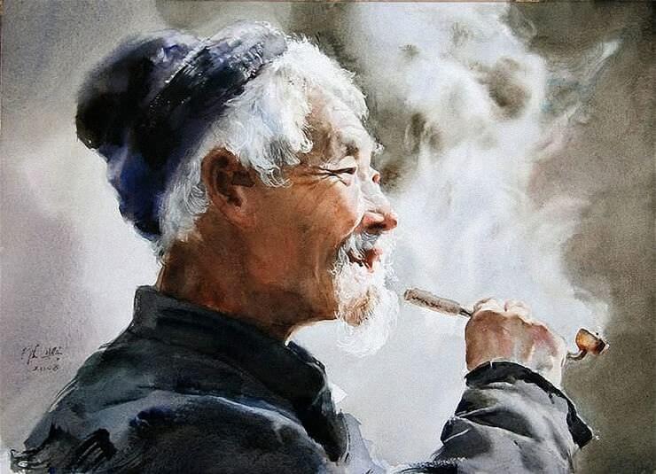 Куріння пов'язано зі слабкістю у людей похилого віку
