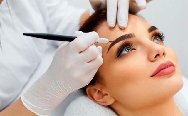 иглы для выполнения контурного макияжа