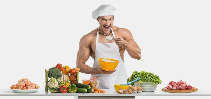 Харчування для набору сухої м'язової маси