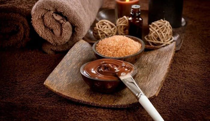 Шоколадний пілінг для шкіри тіла