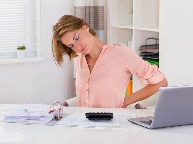 Боль в пояснице при сидячей работе: как быть?
