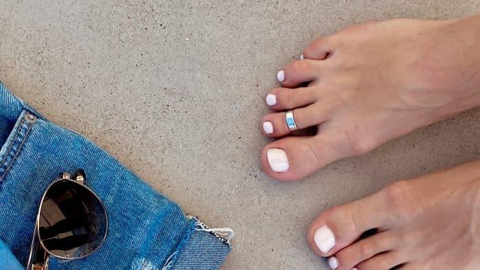 Обираємо кільце на палець ноги